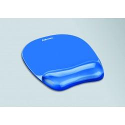 Fellowes - 91141 alfombrilla para ratón Azul