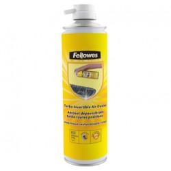 Fellowes - 9656702 Teclados Limpiador de aire comprimido para limpieza de equipos 650ml kit de limpieza para comput