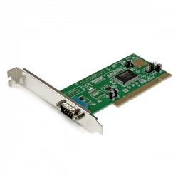 StarTech.com - Tarjeta Adaptadora PCI de un Puerto Serie DB9 UART 16550 RS232 - 1x DB9 Macho
