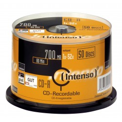 Intenso - CD-R 700MB 50 pieza(s)