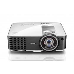 Benq - MX806ST Desktop projector 3000lúmenes ANSI DLP XGA (1024x768) 3D Gris, Plata videoproyector