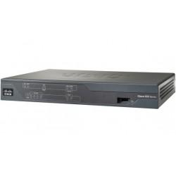 Cisco - 881 router Ethernet rápido Negro