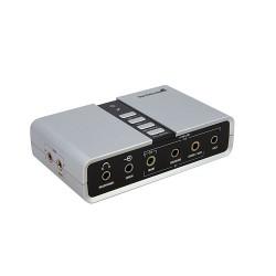 StarTech.com - Tarjeta de Sonido 7,1 USB Externa Adaptador Conversor puerto SPDIF Audio Digital Óptico