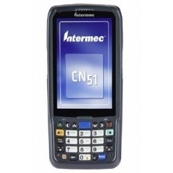 "Intermec - CN51 4"" 480 x 800Pixeles Pantalla táctil 350g Negro ordenador móvil industrial - 22221855"
