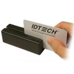 ID TECH - MiniMagII PS/2 Negro lector de tarjeta magnética