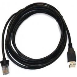 Honeywell - 53-53809-N-3 2.9m USB A Macho Macho Negro cable USB