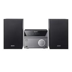 Sony - CMT-SBT40D Minicadena de música para uso doméstico Negro, Gris 50 W