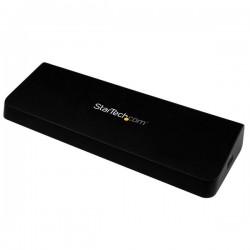 StarTech.com - Replicador de Puertos Universal USB 3.0 para Ordenador Portátil - Base Docking Station DisplayPort H