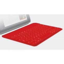 Logitech - Keys-To-Go Bluetooth Español Rojo teclado para móvil