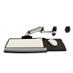 Ergotron - LX Wall Mount Keyboard Arm Plata
