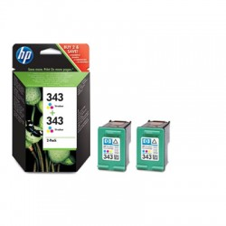 HP - 343 Original Cian, Magenta, Amarillo Multipack 2 pieza(s)