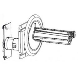 Zebra - P1058930-052 pieza de repuesto de equipo de impresión Impresora de etiquetas Eje