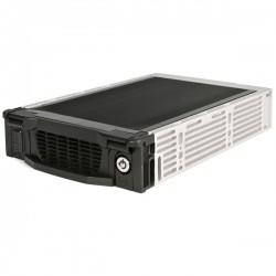 "StarTech.com - Rack Móvil Aluminio para Disco Duro HDD SATA de 3,5"" Pulgadas con Bandeja Bahía de 5,25"""