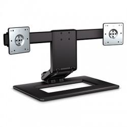 "HP - Adjustable Dual Display Stand 61 cm (24"") Negro"