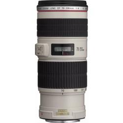 Canon - EF 70-200mm f/4L IS USM SLR Teleobjetivo Blanco