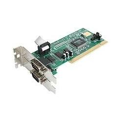 StarTech.com - Tarjeta Adaptadora PCI de Perfil Bajo de 2 Puertos Serie RS232 DB9 UART 16550