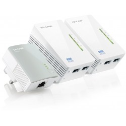 TP-LINK - TL-PA4010 + 2x TL-WPA4220 500 Mbit/s Ethernet Wifi Blanco