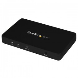 StarTech.com - Divisor HDMI de 2 Puertos de Vídeo 4K - Splitter Multiplicador 1x2 HDMI de Aluminio Sólido - 4K 30 H