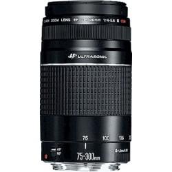 Canon - EF 75-300mm f/4.0-5.6 III USM SLR Teleobjetivo Negro