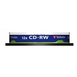 Verbatim - CD-RW 12x CD-RW 700MB 10pieza(s) - 7862257