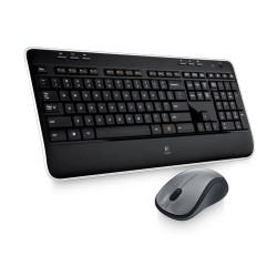 Logitech - MK520 RF inalámbrico QWERTY Español Negro teclado