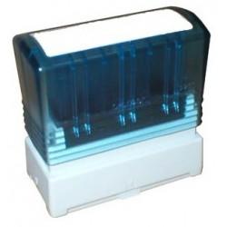 Brother - PR-1438E sello 14 x 38 mm Azul