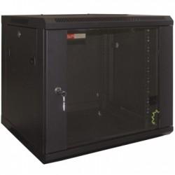 WP - WPN-RWB-09605-B estante Bastidor de pared 9U Negro