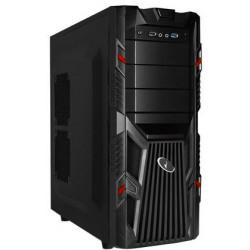 Gembird - CCC-GJ-002-R Midi-Tower Negro, Rojo carcasa de ordenador