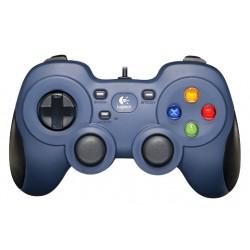 Logitech G - F310 Gamepad PC Digital Negro, Azul, Multicolor