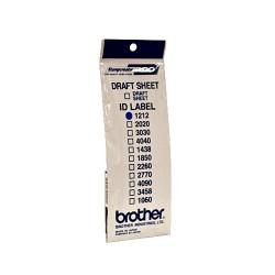Brother - ID1212 etiqueta de impresora