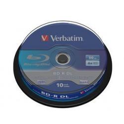 Verbatim - 43746 disco blu-ray lectura/escritura (BD) BD-R 50 GB 10 pieza(s)