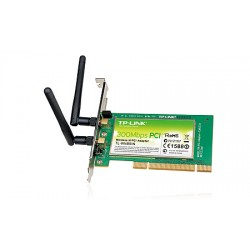 TP-LINK - 300Mbps Wireless N PCI Adapter 300Mbit/s adaptador y tarjeta de red