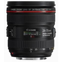 Canon - EF 24-70mm f/4L IS USM SLR Objetivo de zoom estándar Negro