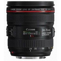 Canon - EF 24-70mm f/4L IS USM SLR Standard zoom lens Negro