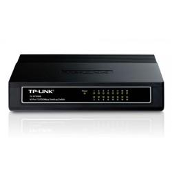 TP-LINK - 16-Port 10/100Mbps Desktop Switch No administrado Fast Ethernet (10/100) Blanco