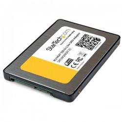 StarTech.com - Adaptador SSD M.2 a SATA III de 2,5 Pulgadas con Carcasa Protectora - Conversor NGFF de Unidad SSD