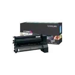 Lexmark - Magenta Return Program Print Cartridge for C770/C772 6000páginas Magenta