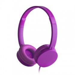 Energy Sistem - 394913 auriculares para móvil Binaural Diadema Púrpura Alámbrico