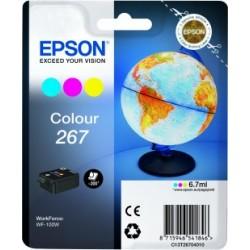 Epson - Globe Singlepack Colour 267 ink cartridge - 13509416