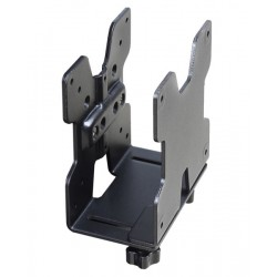 Ergotron - 80-107-200 Desk-mounted CPU holder Negro soporte de CPU