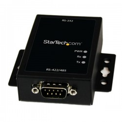 StarTech.com - Conversor Adaptador Serie RS232 a RSS422 y RS485 - Puerto Serial DB9 Protección Electrostática 15KV
