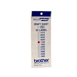 Brother - ID1438 etiqueta de impresora