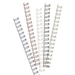 GBC - Wire Nº5 (7.9 mm) Blanco (Caja 100)