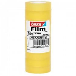TESA - 57387-00001-00 cinta adhesiva 33 m Transparente 10 pieza(s)