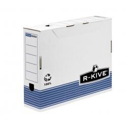 Fellowes - 0026401 Azul, Color blanco caja y organizador para almacenaje de archivos