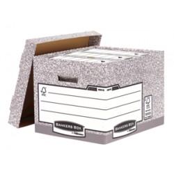 Fellowes - Bankers Box Gris caja y organizador para almacenaje de archivos - 22062468