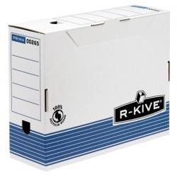Fellowes - 0026501 Azul, Color blanco caja y organizador para almacenaje de archivos