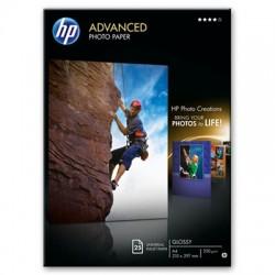 HP - Q5456A papel fotográfico A4 Negro, Azul, Blanco Brillo