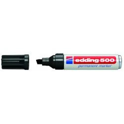 Edding - 500 Permanent Marker Black (10) marcador permanente