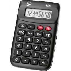 5Star - 108 Bolsillo Calculadora básica Negro calculadora